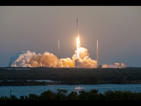 Space X DSCOVR Launch 2015 720HD