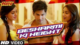 Besharmi Ki Height Song Main Tera Hero | Varun Dhawan, Ileana D