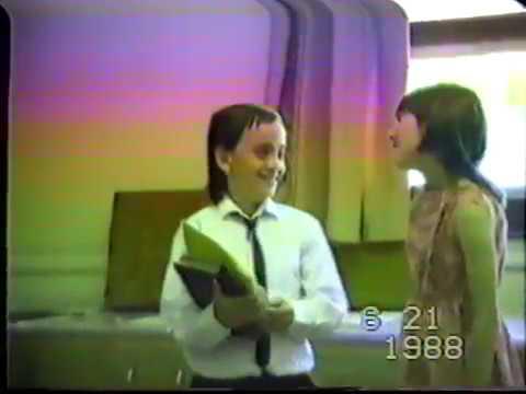 King George Elementary School - 'New Attitude' Music Video, 1988