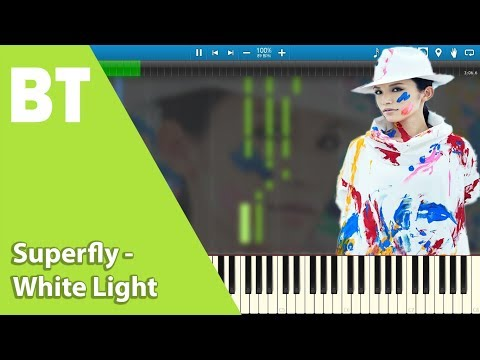 Superfly - White Light (Piano Cover) + Sheets