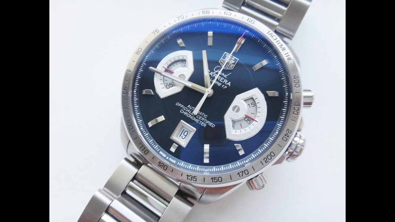 Tag Heuer Grand Carrera Calibre 17 Cav511b Tag Heuer