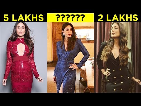 Kareena Kapoor MOST EXPENSIVE Blue Dress For New Year 2019 Vacation