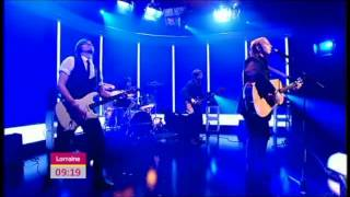 Exclusive James McCartney (son of Paul McCartney) performance on Lorraine