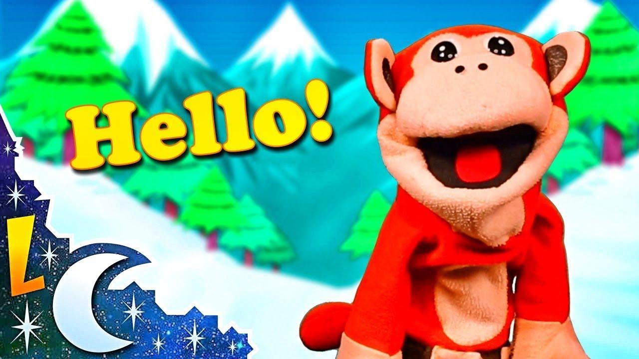 Aprende Inglés con El Mono Sílabo | Saludos | Inglés para Niños | English For Kids