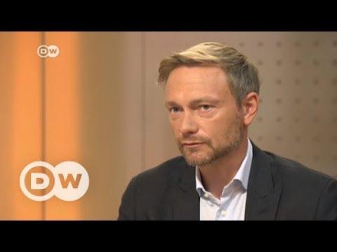 #DeutschlandWaehlt: Das Interview mit Christian Lindner, FDP | DW Deutsch