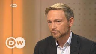 #DeutschlandWaehlt: Das Interview mit Christian Lindner, FDP   DW Deutsch