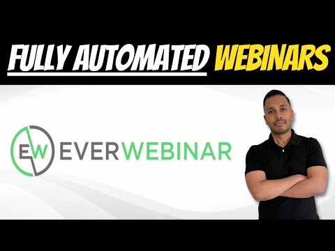 How to Create Automated Pre-Recorded Webinars That Look Real 🔥 Everwebinar Tutorial