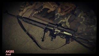 ASG/Izhmash SVD-S Dragunov Sniper |Spring-Sniper|GER|Airsoft Quick Review #13