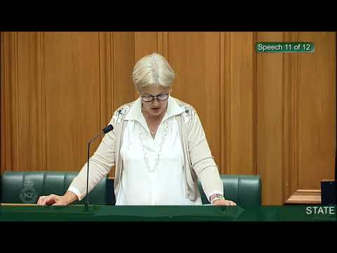 State Sector and Crown Entities Reform Bill - First Reading - Video 13
