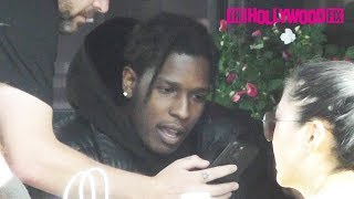 ASAP Rocky Takes A Break From Rihanna & Steps Out With His Homie For Lunch At Toast Cafe 2.3.20