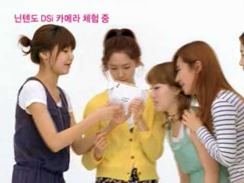 SNSD CF - Nintendo DSi Camera Experiencing , Mar30.2010 GIRLS' GENERATION