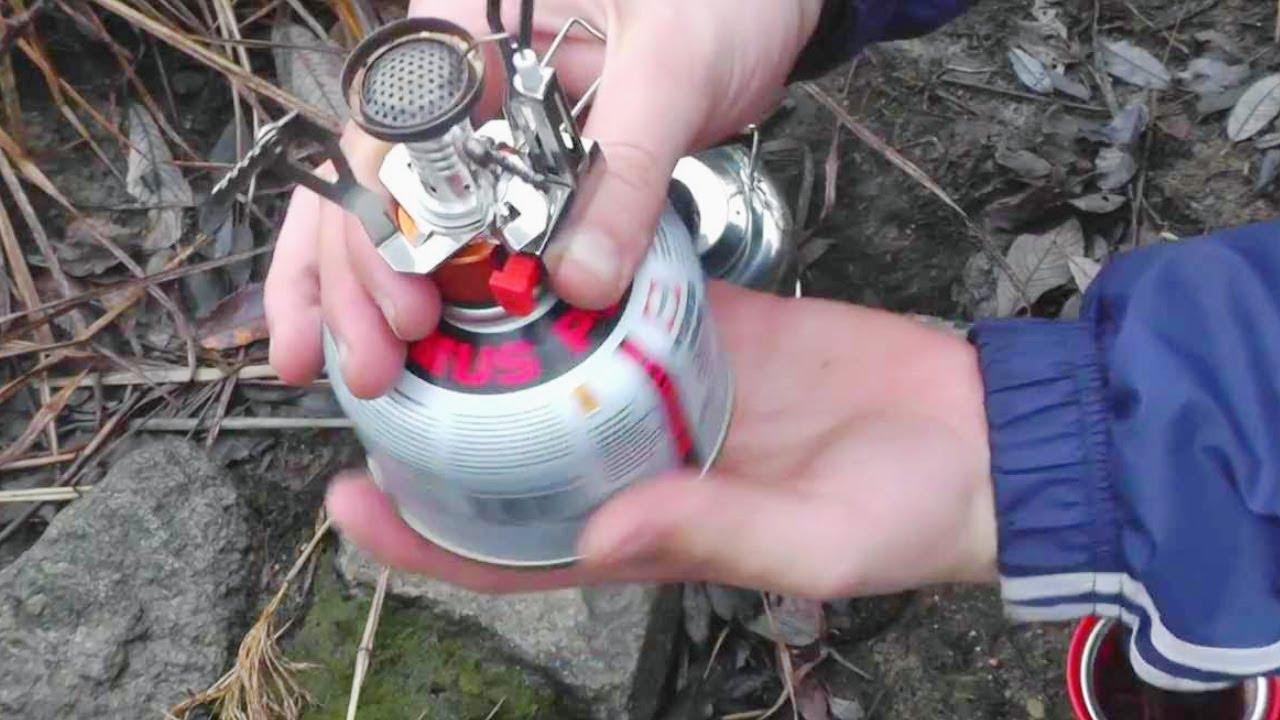 Про газовую горелку за 7$ и походный чайник