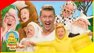 Old MacDonald Had A Farm | Live Sing-a-long Nursery Rhymes | The Mik Maks
