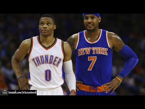 Carmelo Anthony Traded to OKC Thunder! [NBA Network]