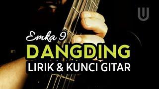 Emka 9 & Kang Dedi Mulyadi - Dangding Plus Lirik & Kunci Gitar