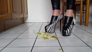 Zebra Heels Vs Apple
