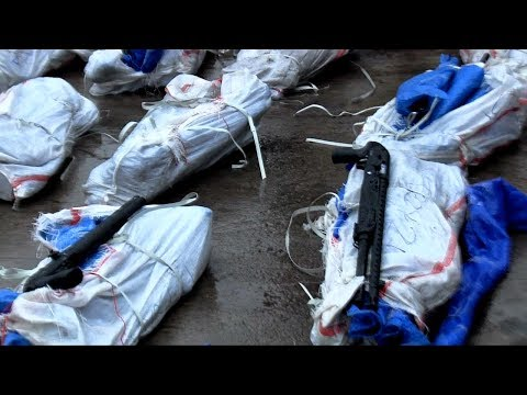 Customs Discover 1,100 Pump-Action Rifles At Lagos Port Pt.1 |News@10| 11/09/17
