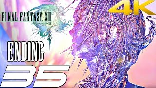 Final Fantasy XIII - Walkthrough Part 35 - Final Boss & Ending [4K 60FPS]