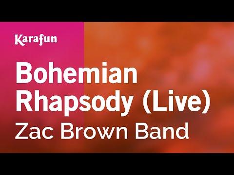 Karaoke Bohemian Rhapsody (Live) - Zac Brown Band *