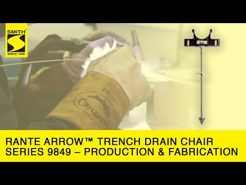 Rante Arrow™ Trench Drain Chair Series 9849 – Production & Fabrication HD