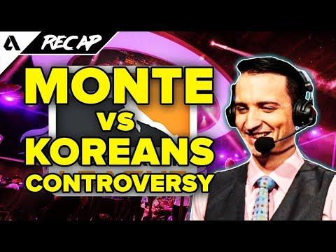 MonteCristo vs Korean Casters - OGE Name Controversy, Overwatch League Will Be On TV | Akshon Recap