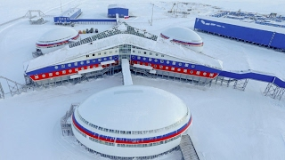 Russia unveils new Arctic military base