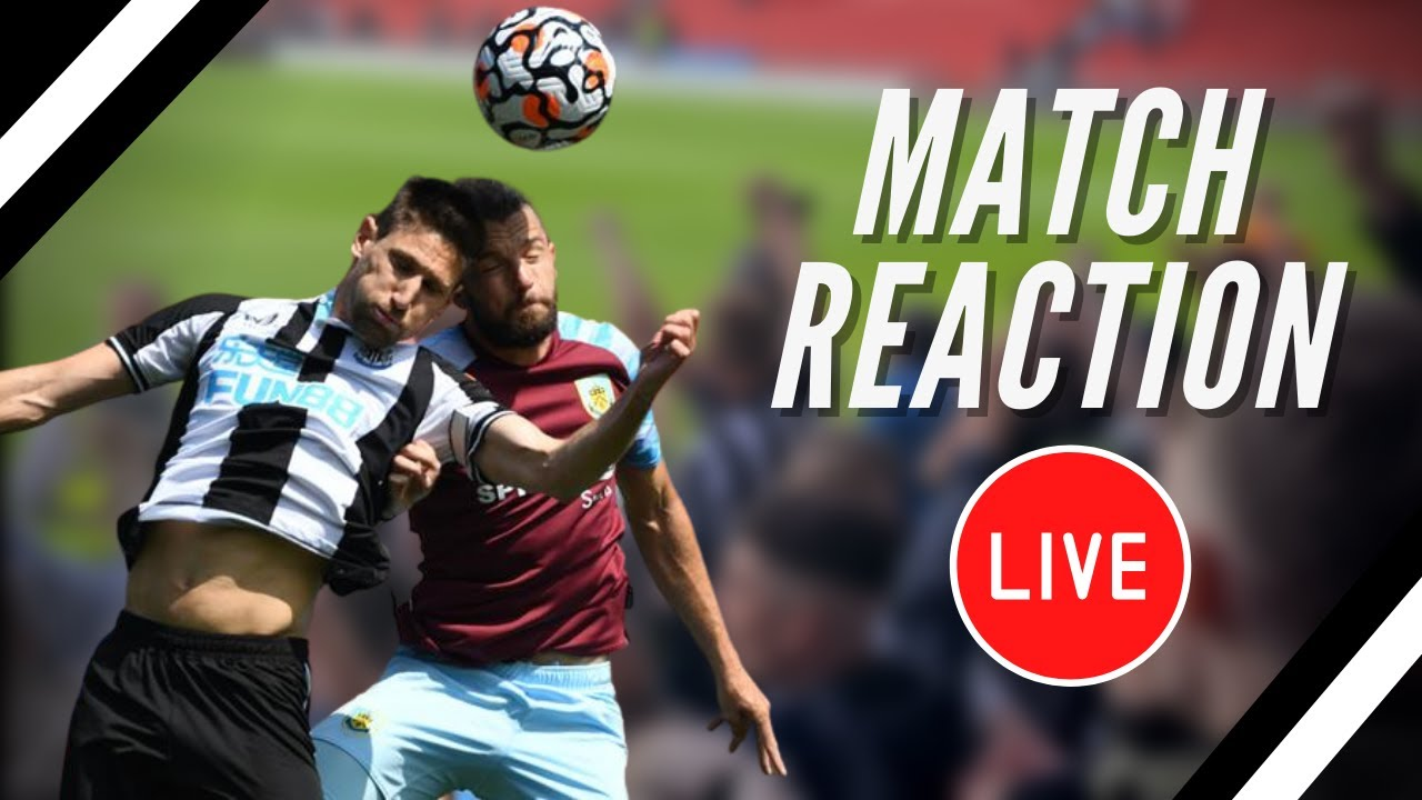 Match reaction | Newcastle United vs Burnley | Carabao Cup 2nd round