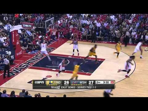 Indiana Pacers vs Washington Wizards Game 3 | May 9, 2014 | NBA Playoffs 2014