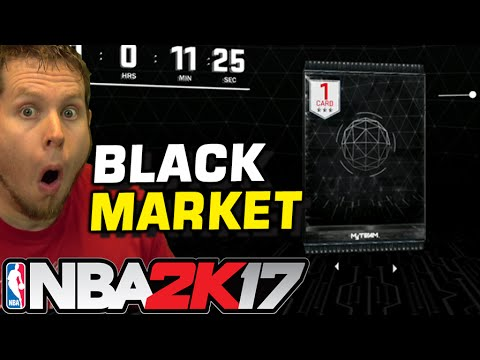HOW TO ACCESS THE BLACK MARKET IN NBA 2K17 in 30 MINUTES!
