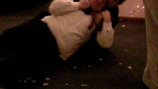Frat boy wrestling