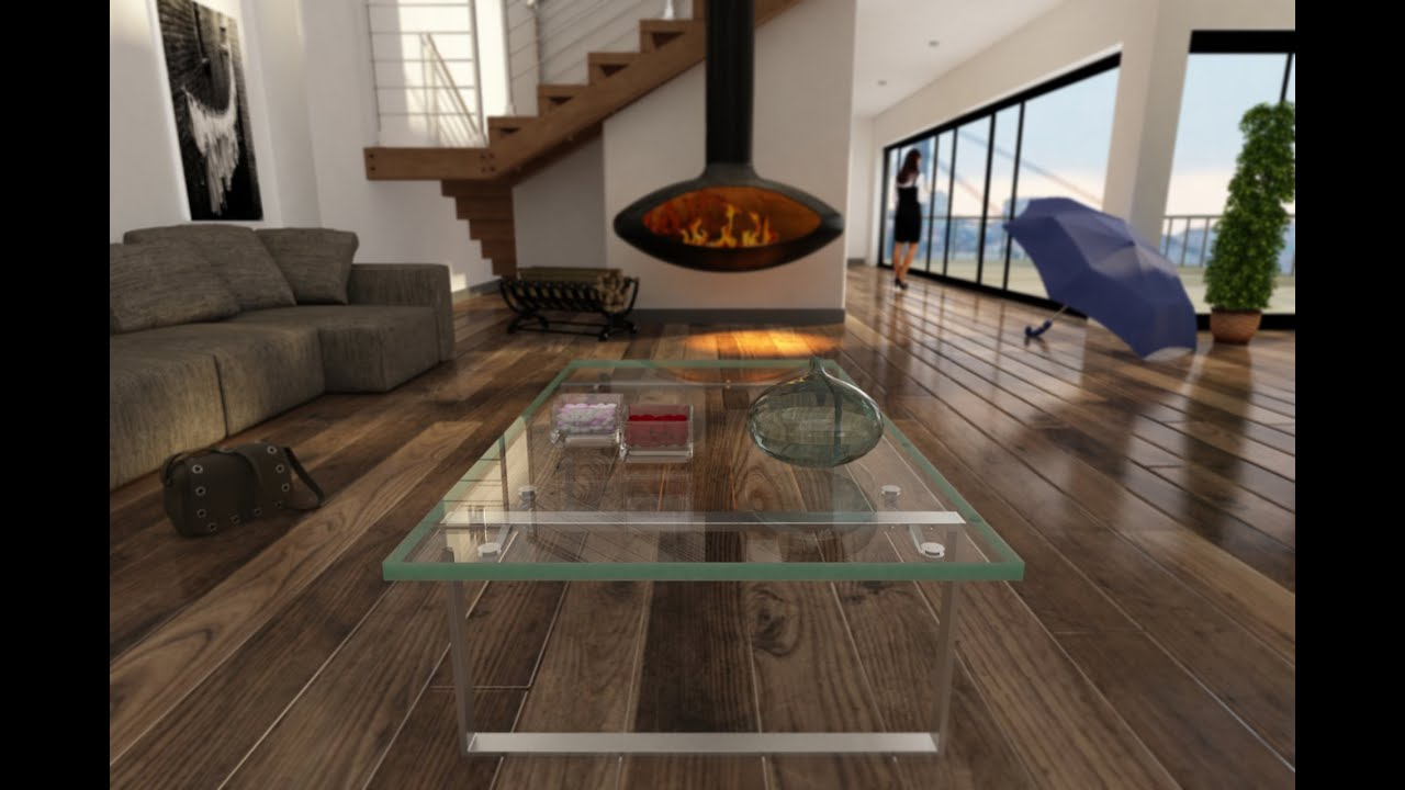 Realistic Glass Material Vray Rendering 3ds Max Tutorial