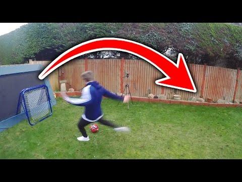 180 DEGREE SHOOTING CHALLENGE | Football's Top Drawer #4 - FIFA 17