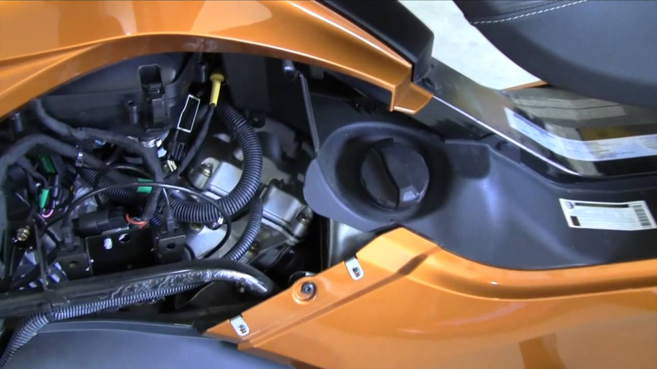 Can Am Spyder Fog Light Install Part 1
