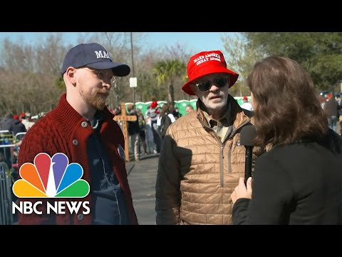Trump Supporters Believe Coronavirus Could Be A 'Nothing Burger' | NBC News