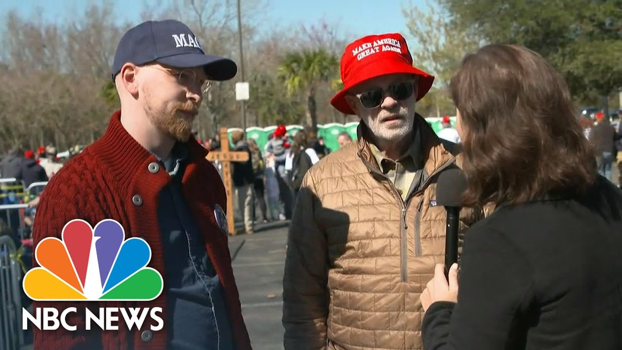 Trump Supporters Believe Coronavirus Could Be A 'Nothing Burger' | NBC News Смотри на OKTV