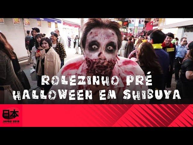 Rolezinho Pré Halloween em Shibuya