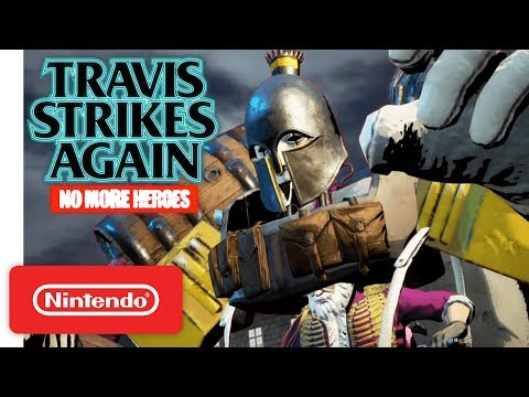 Travis Strikes Again: No More Heroes - Coffee & Doughnuts Trailer - Nintendo Switch