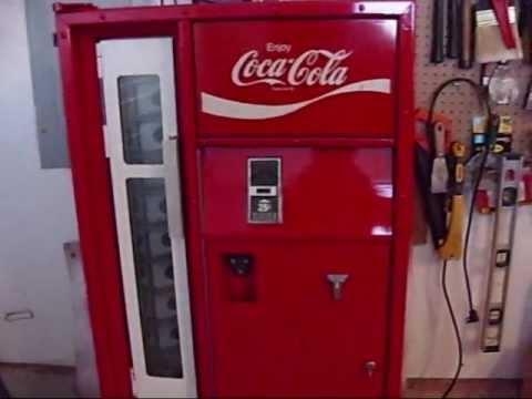 1970s Vendo Coke Machine