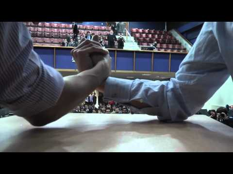 KidzCare Tanzania: Staff Arm Wrestling