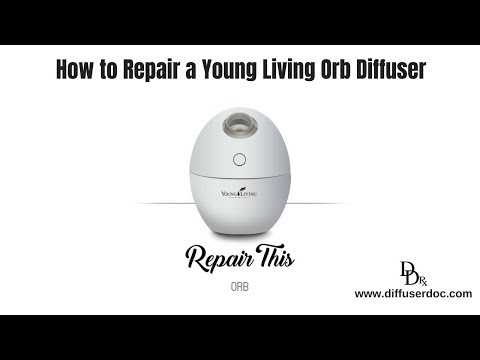 How to Repair a young Living USB Orb Diffuser