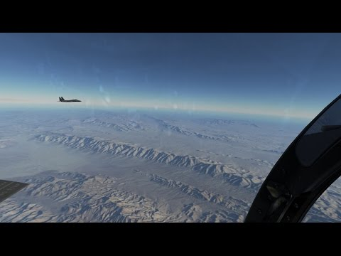 DCS World 2 |  Nevada  | MP Coop engagement with RedBravo