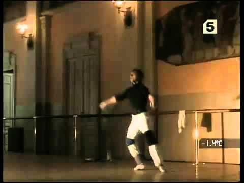 Baryshnikov Practising Jumps