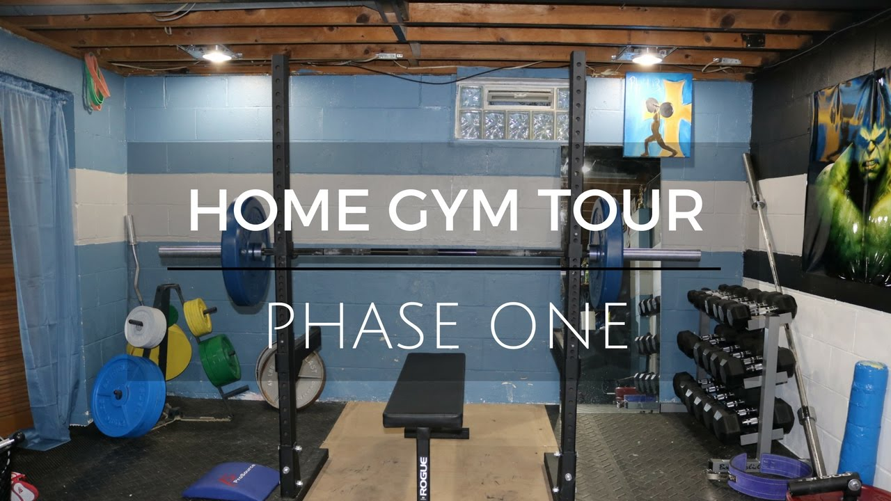 Rogue fitness powerlifting home gym setup youtube