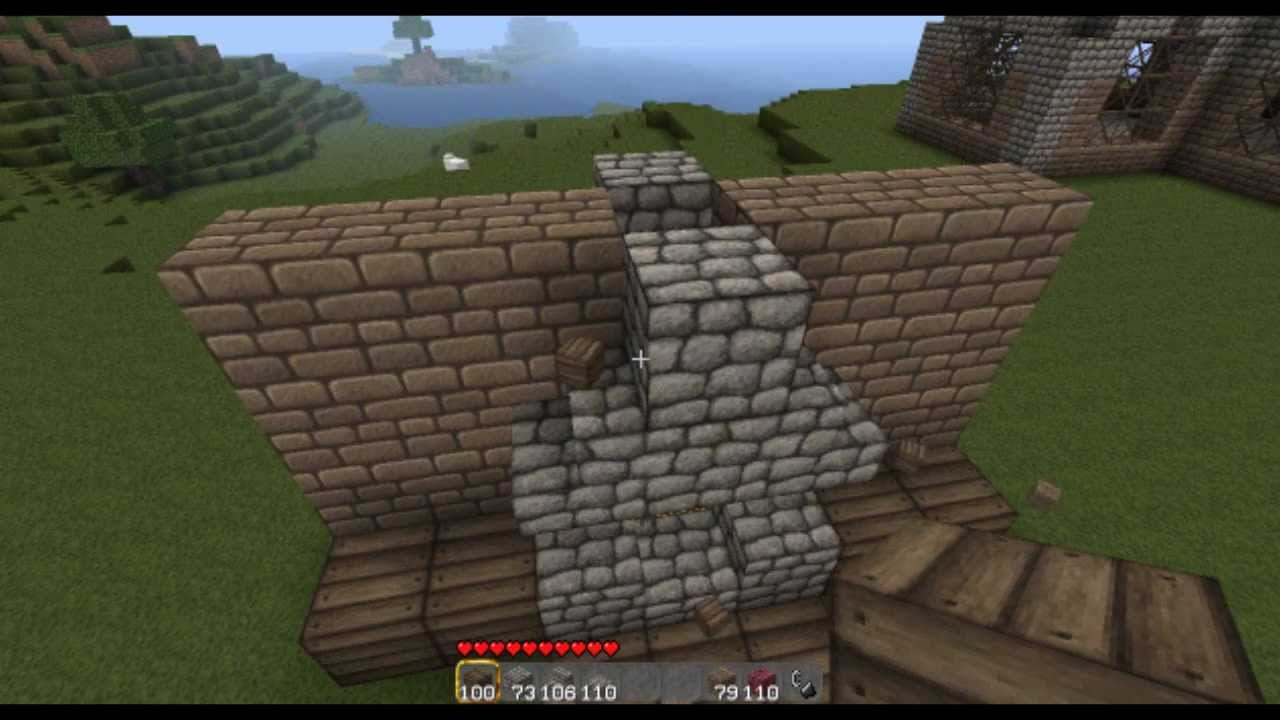 How To Make A Fireplace In Minecraft Without Netherrack
