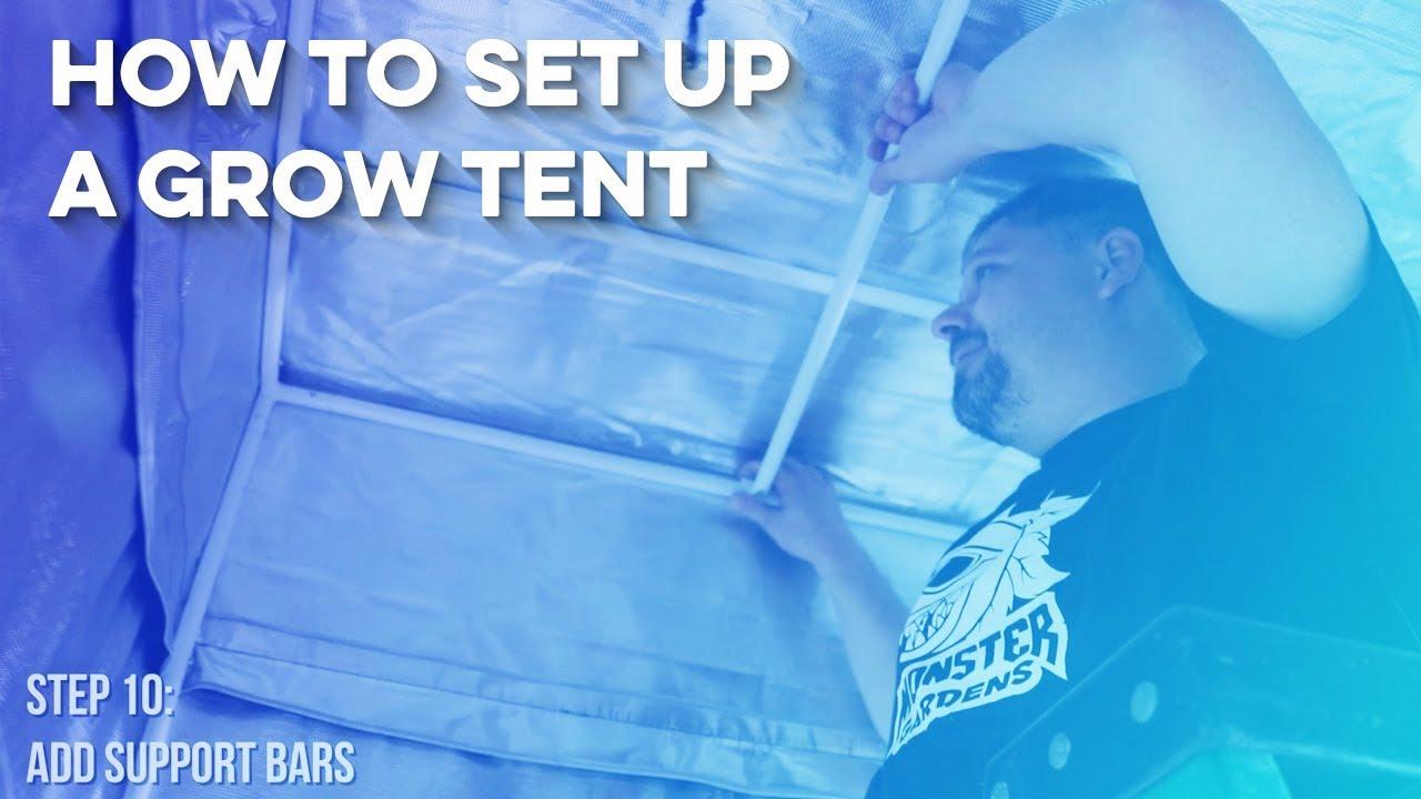 Complete Grow Tent Setup-How to Set Up a Grow Tent  sc 1 st  YouTube & Complete Grow Tent Setup-How to Set Up a Grow Tent - YouTube