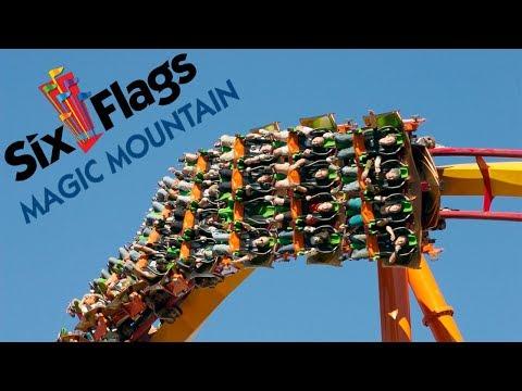 Six Flags Magic Mountain - 2017 Music Video