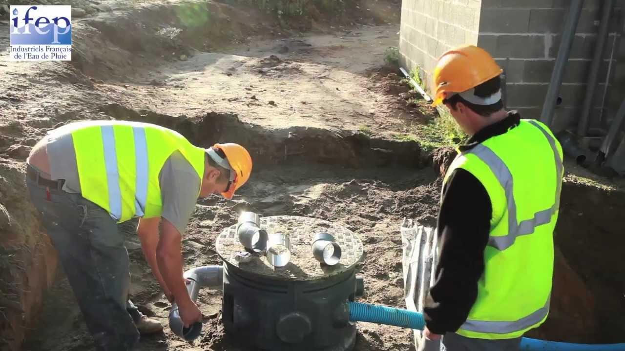 Installation d taill e d 39 un syst me de r cup ration d 39 eau de pluie youtube - Un broc d eau ...