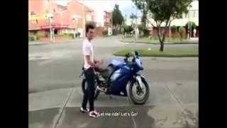 Jangan sombong kalo punya motor bagus