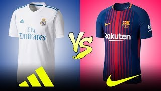 Adidas vs Nike  =  Who Made The Best Kits For The [[2017/18]] Season?