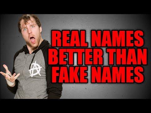 7 Wrestler REAL NAMES Better Than Their Wrestling Names